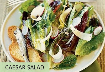 Caesar Salad Recipes with Anchovies