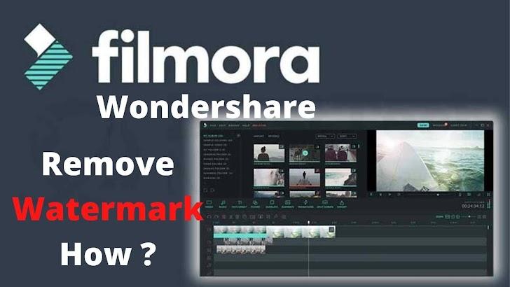 How to remove filmora wondershare watermark free