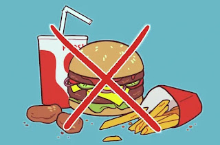 Avoid Oily Food like French Fries, Burgers Etc