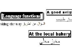 الدرس الثالث - الوحدة الثالثة انجليزي اول ثانوي اليمن