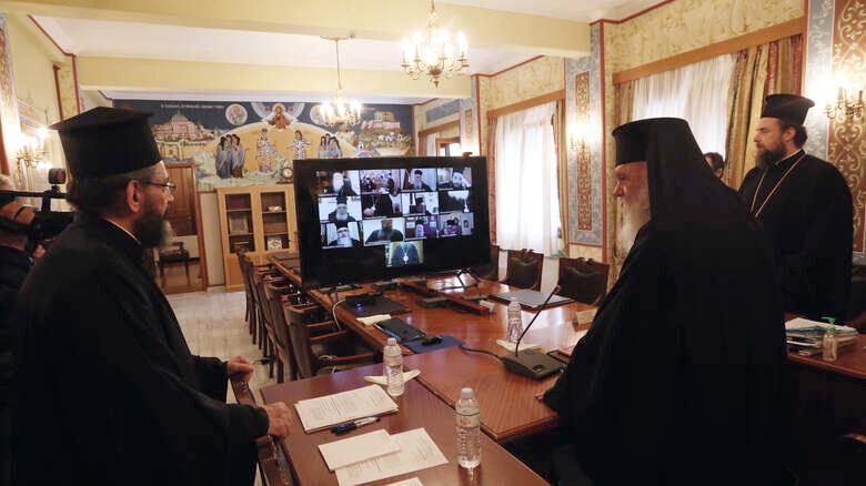 Εγκύκλιος της Ιεράς Συνόδου της Εκκλησίας της Ελλάδος ως προς το ζήτημα του νέου κορωνοϊού
