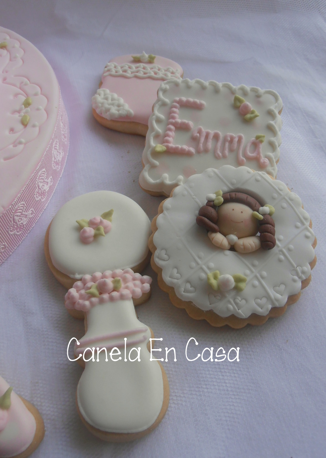 Galletas Decoradas Baby Shower Enero 2013