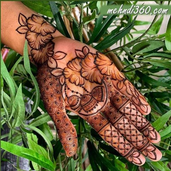 Nature Special Henna Design Front