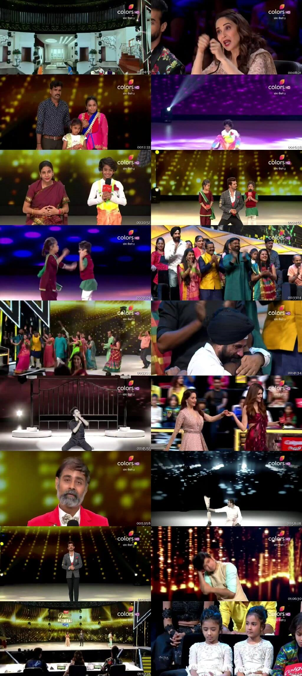 Screenshots Of Hindi Show Dance Deewane 2 21st July 2019 Episode 12 300MB 480P HD
