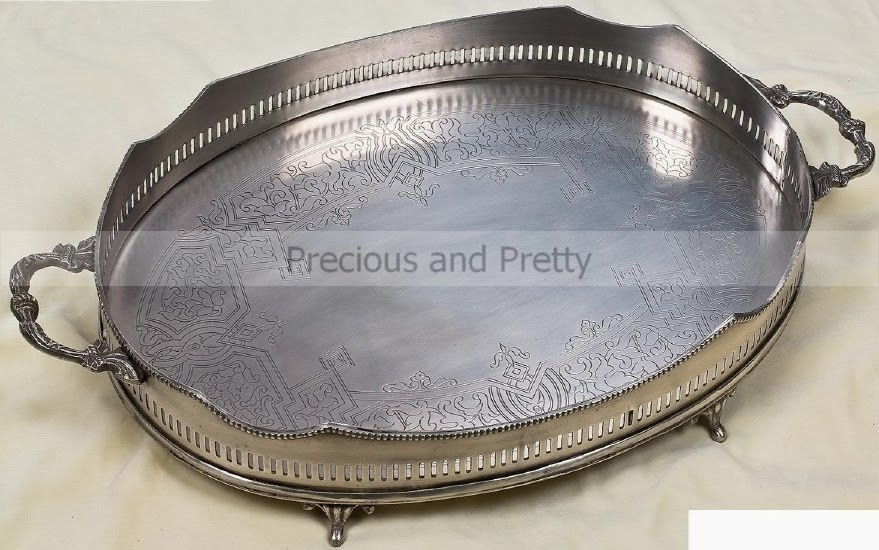 Vintage wedding tray from Greece