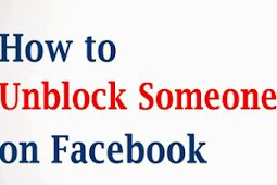 How To Unblock A Friend On Facebook