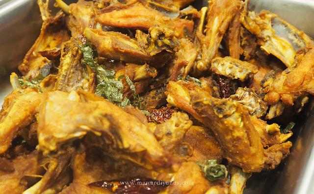 Resipi Ayam Kampung Goreng