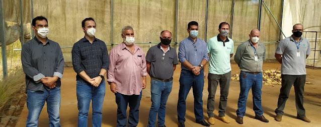 Municípios realizam estudo para reativar Estufa Agrícola do Viveiro de Produção, Fábrica de Maravalha e Centro de Distribuição de Alimentos