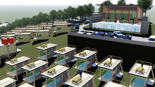 villa site plan