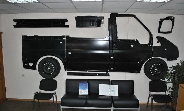 кузовные детали для ford