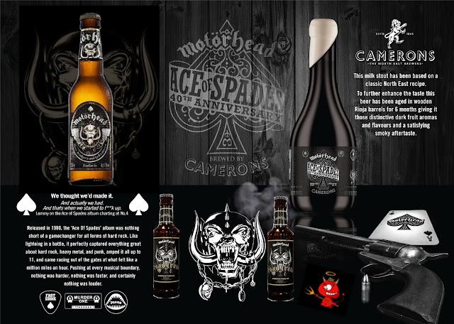 Cervezas de Motörhead.