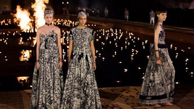 Νέο βίντεο από τα παρασκήνια της εμβληματικής επίδειξης του Dior στο Καλλιμάρμαρο