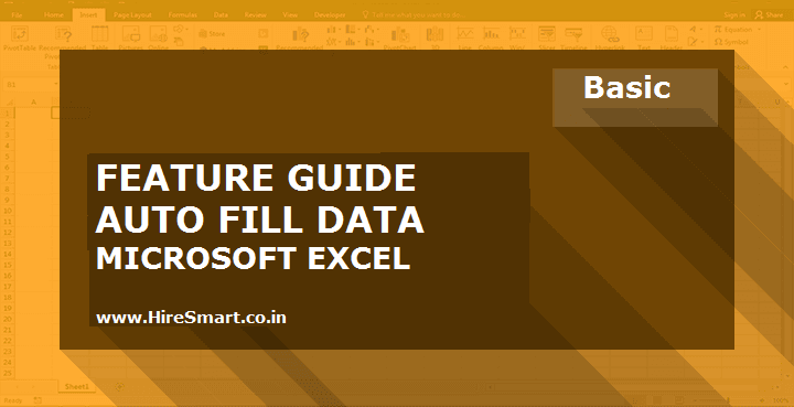 How To Use Auto Fill Data In Microsoft Excel