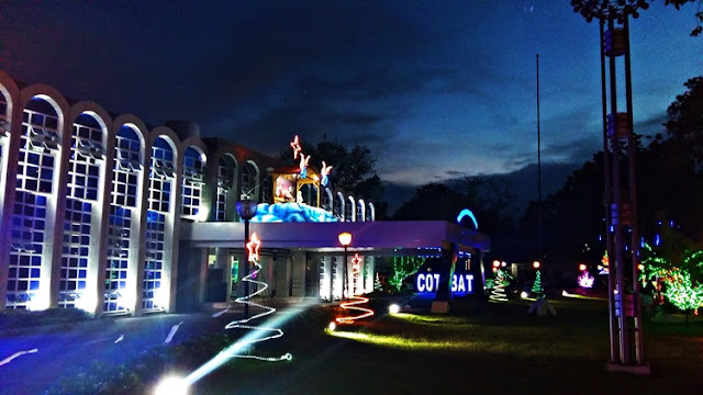 Christmas is in the air at the South Cotabato Provincial Capitol