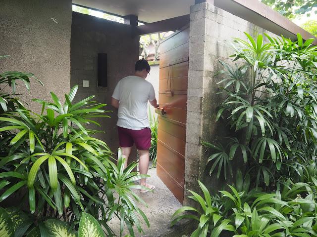 Bali Villa Entrance
