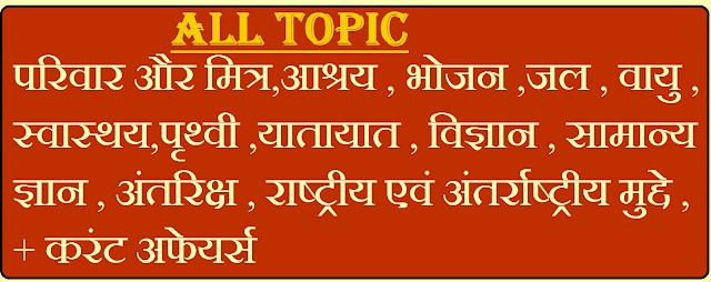 Environment And Ecology Notes In Hindi