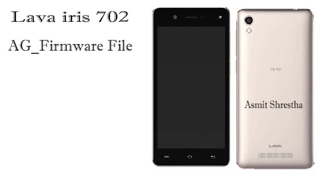 lava Iris702 CM2 Read Stock Rom Firmware Flash File