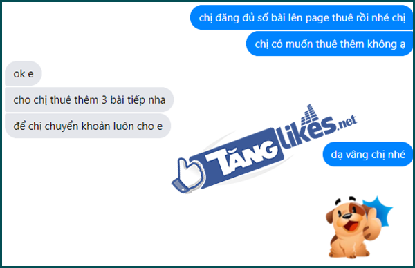 thue fanpage