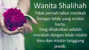 Jadilah Wanita Shaleha