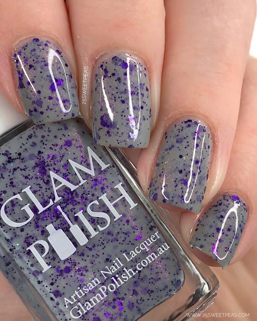 Glam Polish The X Files 25 Sweetpeas