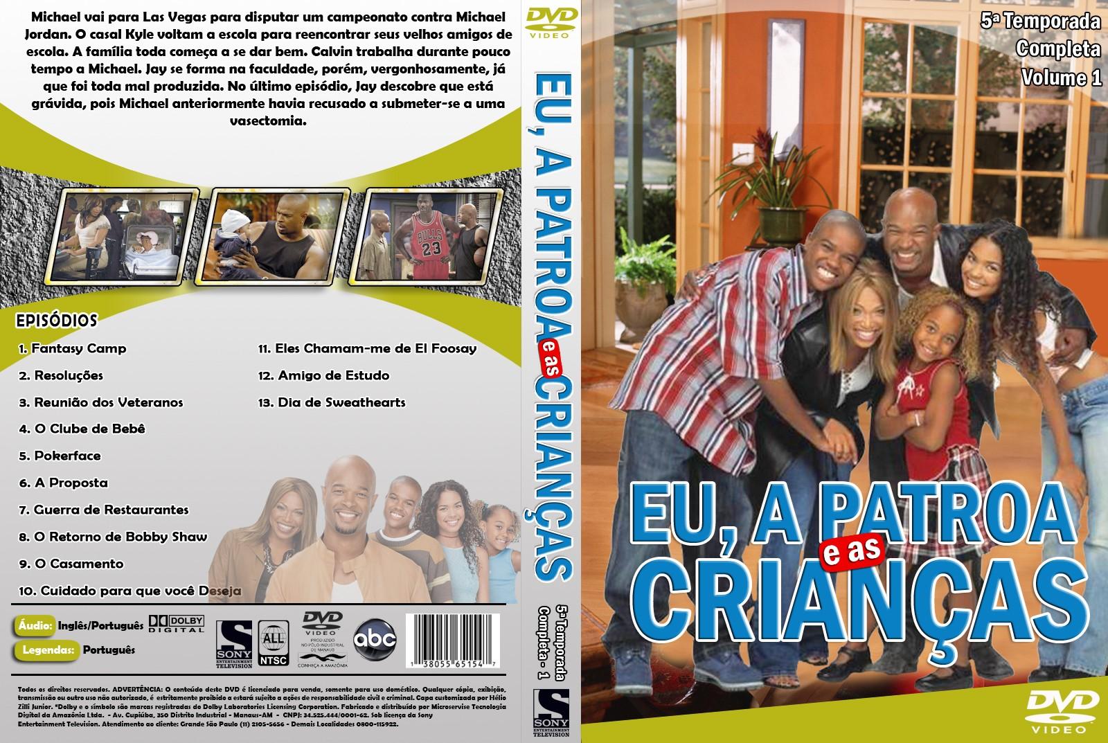 Eu, a Patroa e as Crianças 5° Temporada Completa Eu, a Patroa e as Crianças 5° Temporada Completa euapatroaeascrianc3a7as quintatemporada volume128custom29