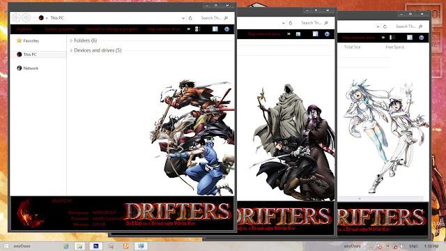 Drifters Theme Win 8/8.1 by Enji Riz Lazuardi