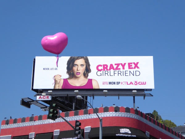 Special Crazy ExGirlfriend 3D balloon billboard