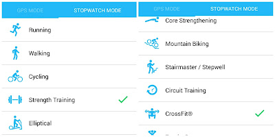 С Runkeeper можеш да следиш избрани показатели по време на силова тренировка и много други