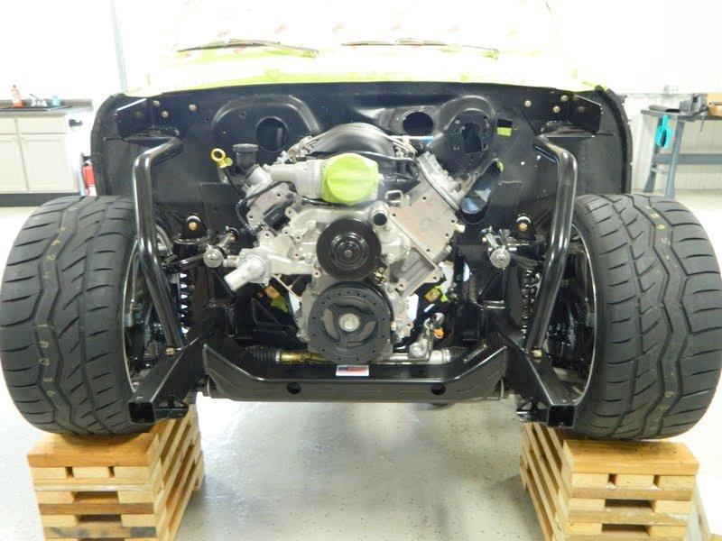 67 Nova Project: Mock-Up - Engine, Trans & Trans Tunnel