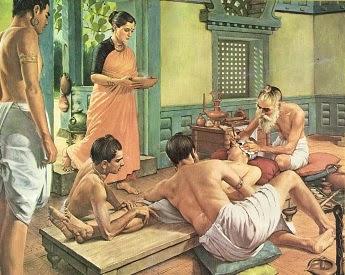 medicina ayurveda tratamiento enfermedades crónicas tradicional india