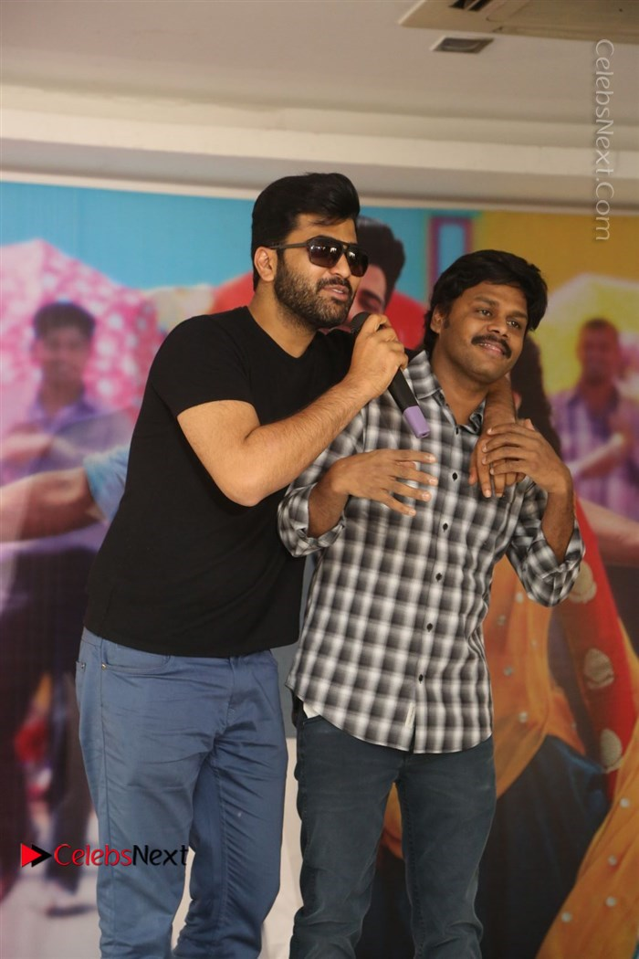 Radha Telugu Movie Success Meet Stills