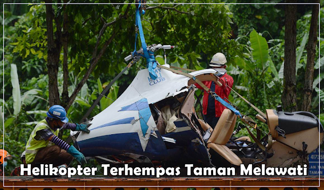 Helikopter Terhempas Taman Melawati
