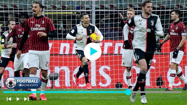 Milan vs Juventus – Highlights