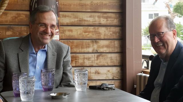 Τετ α τετ Σαμαρά - Νίκα στην Καλαμάτα - Τι δήλωσε ο πρώην Πρωθυπουργός