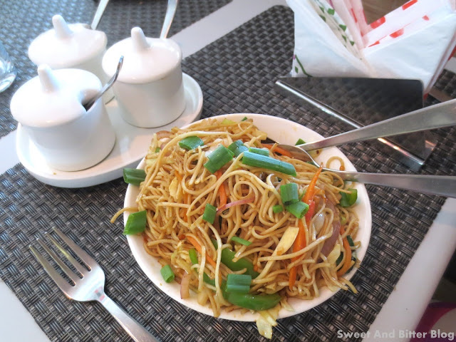 Chinese at Flaming Yok
