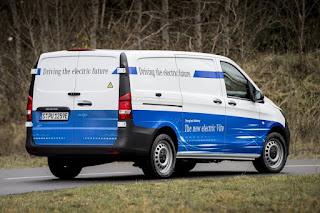 Mercedes-Benz eVito Panel Van (2018) Rear Side