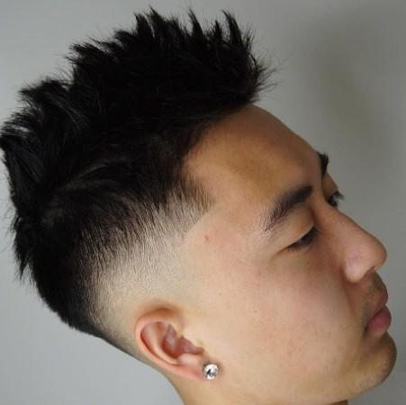 gaya rambut spike
