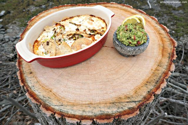 Nachos Sin Gluten con Queso y Guacamole