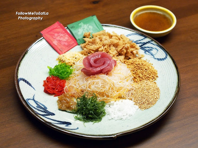 Japanese Yee Sang With Tuna/Maguro Sashimi 4 to 6 pax RM 38