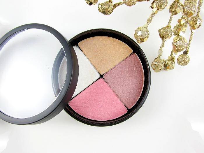 Review & Swatches: glominerals Mineral Makeup - glo Shimmer Brick Gleam - Bronzer, Highlighter, Blush für alle Hauttöne