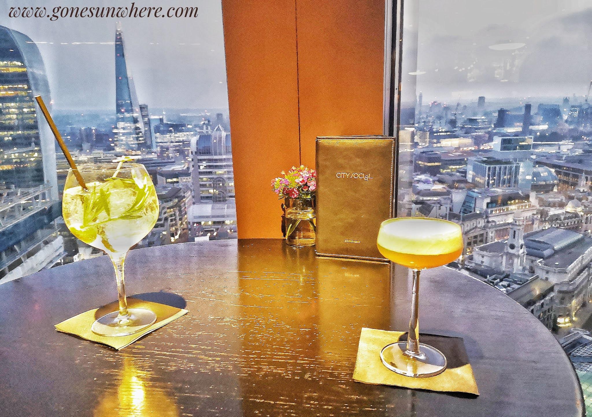 Bars with views London