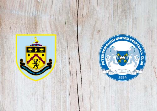 Burnley vs Peterborough United -Highlights 4 January 2020