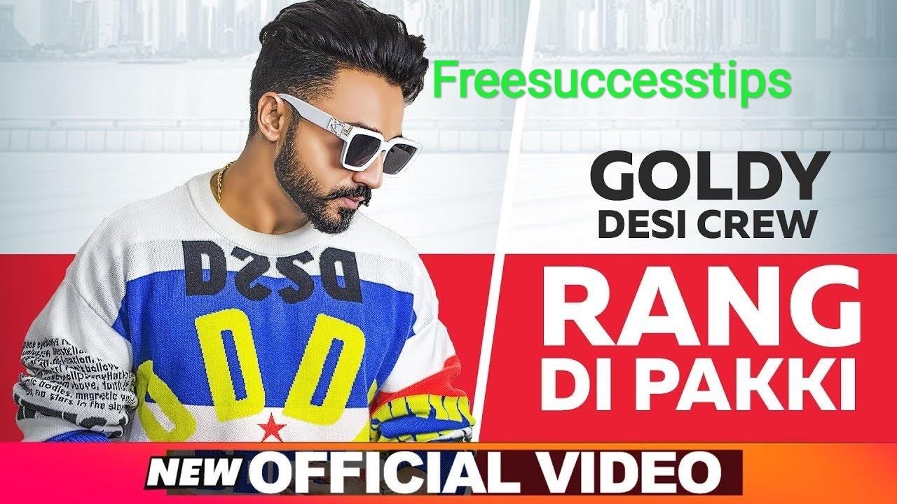 Rang Di Pakki Song Lyrics - Goldy Desi Crew