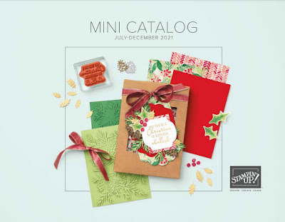 Cover of the Stampin' Up! July-December 2021 Mini Catalog