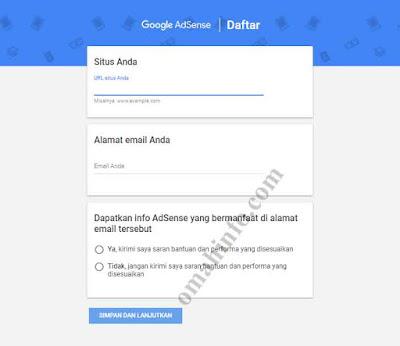 Cara Daftar Google Adsense lagsung diterima