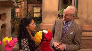 Elmo, Leela, Three Little Pigs, Mr. William Bill Ding, Tim Gunn, Sesame Street Episode 4319 Best House of the Year season 43