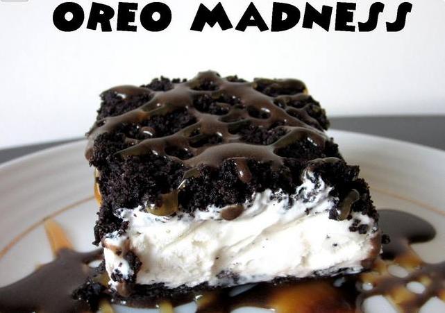 Oreo Madness Ice-cream Cake Recipe