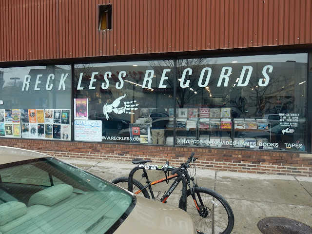 Reckless Records - Wicker Park Chicago - Store Front