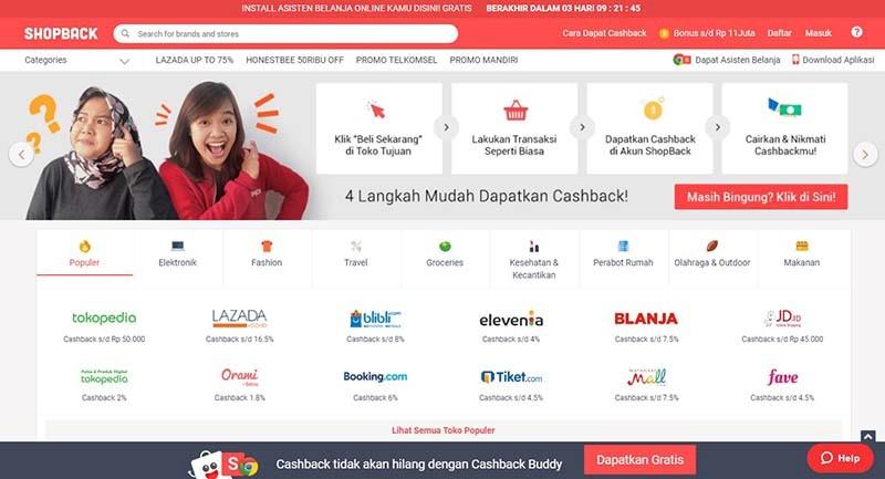 ShopBack Siapkan Cashback Untuk Belanja Online Di Harbolnas