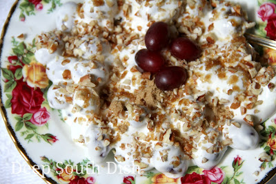 Deep South Dish Grape Salad